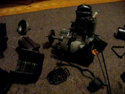 Ryobi 825R 4 Stroke Weed Trimmer Engine Part 1