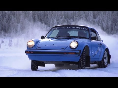 Ice Driving in 911 Rally Cars - /CHRIS HARRIS ON CARS