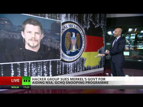 Linus Neumann on suing Merkel's govt for aiding NSA, GCHQ spying programme