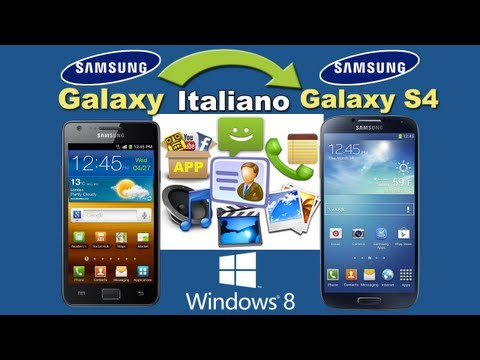 How To Transfer Files/Data From Samsung Galaxy S4/S3/S2/S1 To Galaxy