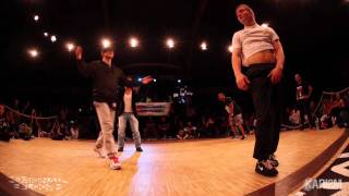 Bboy Lil Kev & Bboy Nasty Ray vs. Bboy Morris & Bboy Lilou | Battle Original Floor | 2on2 Semi Final