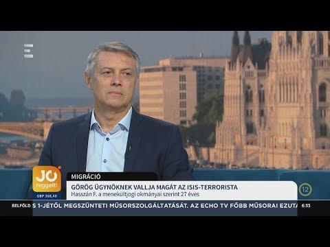 Görög ügynöknek vallja magát az ISIS terrorista - Földi László - ECHO TV
