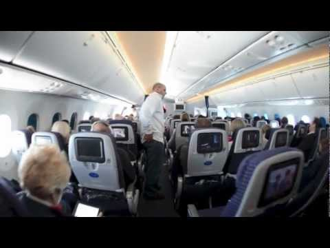 United Airlines Boeing 787 Dreamliner Inaugural Flight