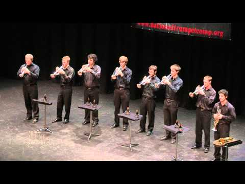The Northwestern University Trumpet Ensemble performs Franz von Suppe's Overture: Poet and Peasant and is the first place winner in the Trumpet Ensemble Divi...