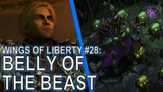 Starcraft II: Wings of Liberty Mission 28 - Belly of the Beast [All Achievements]