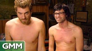 Rhett & Link Get Waxed