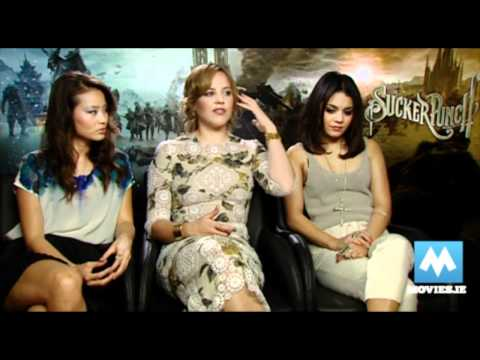 Sucker Punch Interview - Vanessa Hudgens, Abbie Cornish, Jamie Chung