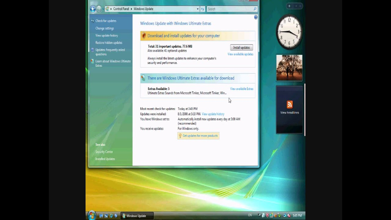 windows vista language pack: