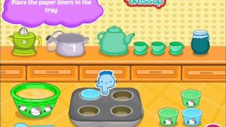 Hello Kitty Donut Muffins gameplay-the most delicious cooking game