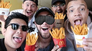 BLIND FRENCH FRY CHALLENGE