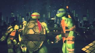 Tmnt 2015-12 - Lift me up - Leo x Raph Bromance