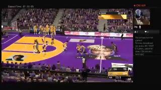 NBA2k19 Lakers vs Spurs