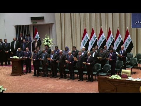 Iraq MPs approve new government, Kerry to visit region