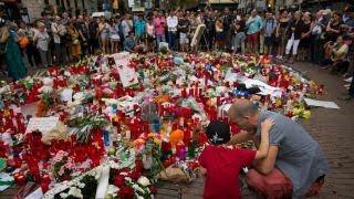 Memorials grow at scene of Barcelona terror attack