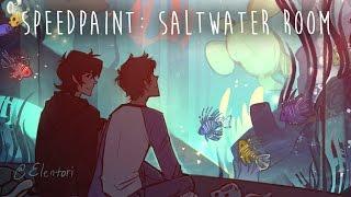 Speedpaint: Saltwater Room