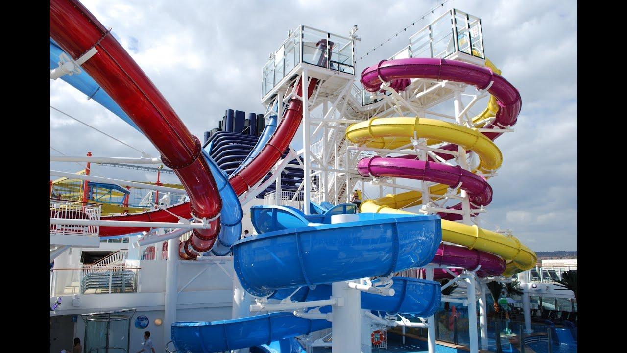 Norwegian Breakaway Cruise Ship Tour