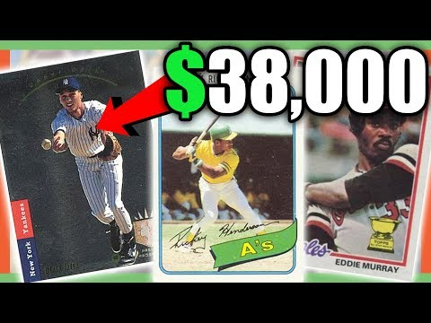 RARE BASEBALL CARDS WORTH MONEY - MOST EXPENSIVE CARDS TO LOOK FOR!!