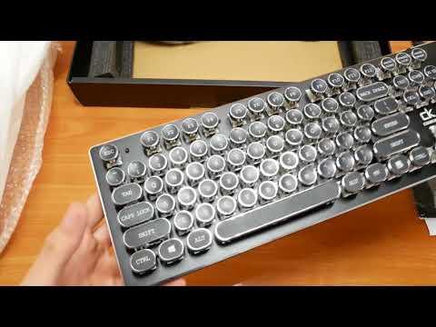 КЛАВИАТУРА AOYEAH K200 || Распаковка и обзор механической клавиатуры