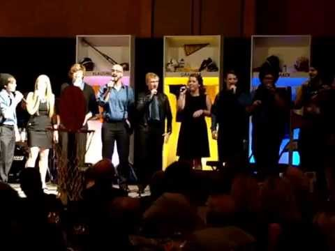 """""""Fly Me To The Moon"""" ~ Illinois Central College Vocal Jazz Ensemble"""