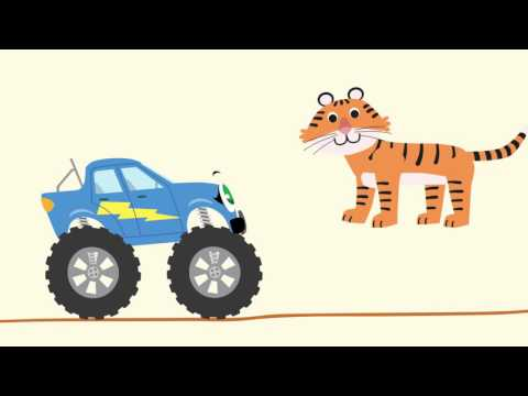 Hupi-Hup. Folge 7. Afrikanische Tiere, Teil 2: die Antilope, der Affe, der Tiger, der Elefant