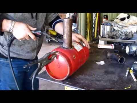 How to build a Waste oil Burner