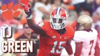 TJ Green || Shutdown Safety || Clemson Highlights