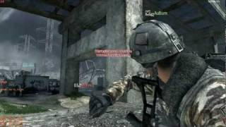 CoD MW3 pro semtex stick to the head