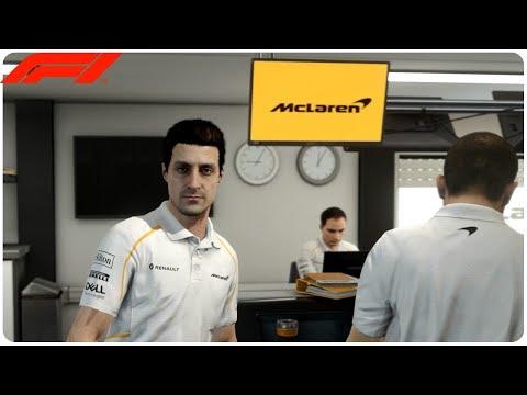 F1 2018 | DÉBUT DE LA CARRIÈRE #McLaren