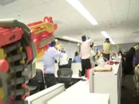 Office Nerf War
