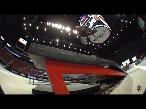 Street League 2012: AZ Practice Quick Clip with Billy Marks