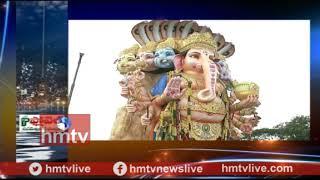 Khairatabad Ganesh Reaches Tank Bund | Live Updates | hmtv