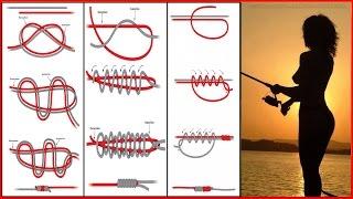 привязка рыболовных крючков видео
