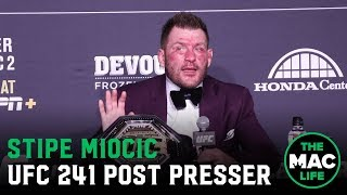 UFC 241 Post-Fight Press Conference: Stipe Miocic