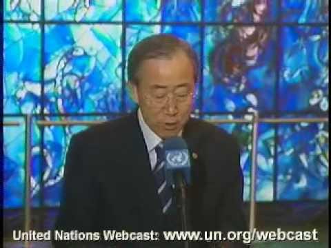 MaximsNewsNetwork: BOMBING of UN in ALGIERS U.N. S-G BAN KI-MOON, 2nd MEMORIAL (UNTV)