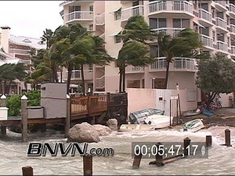 Hurricane Rita Video - Key West Florida - 9/20/2005 - Part 3