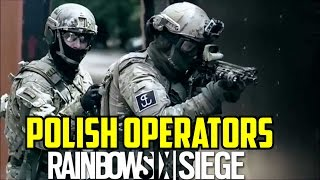 Rainbow Six Siege Polish Operators GROM Weapons Gadgets loadout Maps Season 7 Poland Special Forces