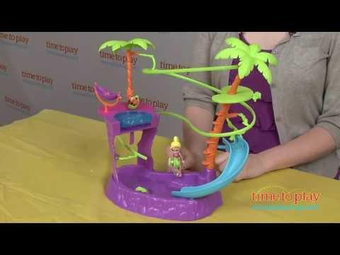 Polly Pocket Zipline Adventure Pool from Mattel