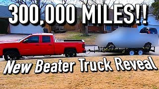 Copart 300K Mile $700 Beater Truck Reveal!! It's Rough!!!