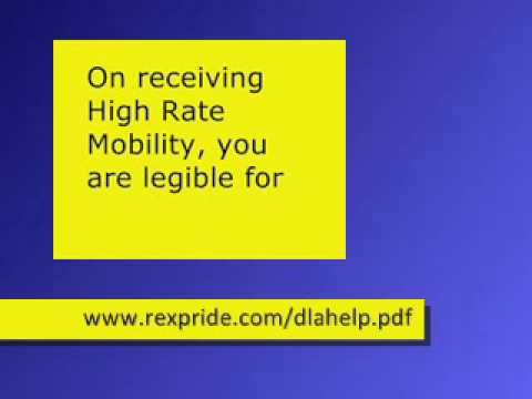Claiming for DLA High Rate Mobility Allowance-Autism