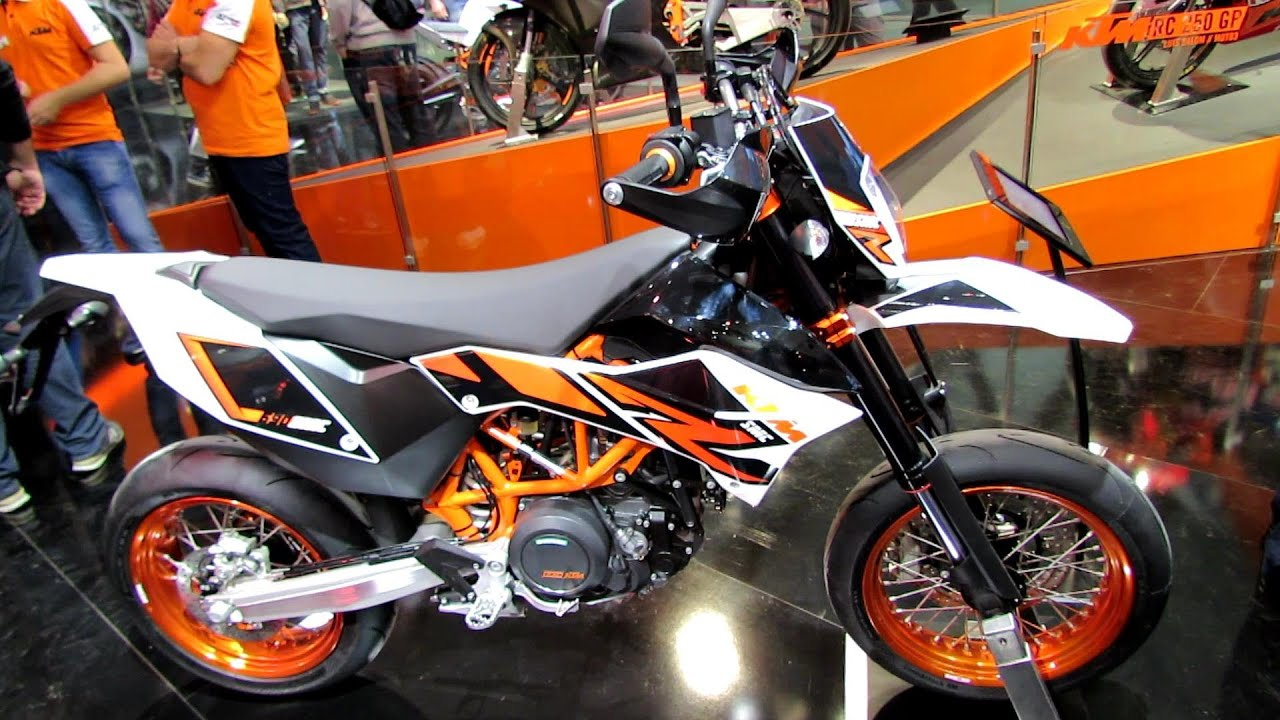 2014 ktm smc 690 r walkaround 2013 eicma milan. Black Bedroom Furniture Sets. Home Design Ideas