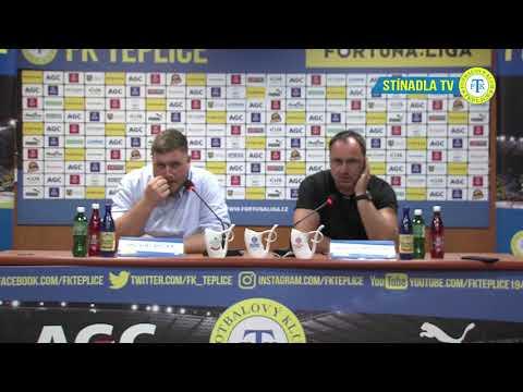 Tisková konference hostujícího týmu po utkání Teplice - Slavia (25.8.2018)