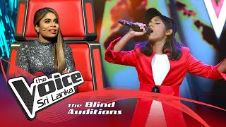 Amashi De Silva – Chakithaya Blind Auditions | The Voice Sri Lanka