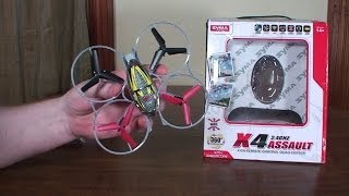 Syma - X4 Assault - Review and Flight