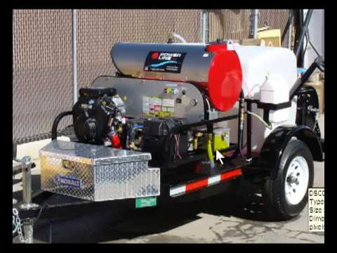 Start a Pressure Washing Business w/ Single Axle Trailer Set Up