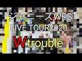 ジャニーズWEST LIVE TOUR 2020 Wtroubleのグッズ紹介