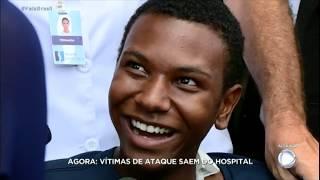Sobrevivente do massacre de Suzano deixa hospital e faz planos para o futuro