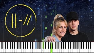 twenty one pilots - Smithereens - EASY PIANO TUTORIAL