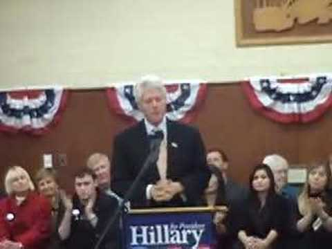 Clinton Stumps Humboldt II