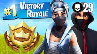 Winning in Duos!! // Pro Fortnite Player // 2100 Wins (Fortnite Battle Royale Gameplay)
