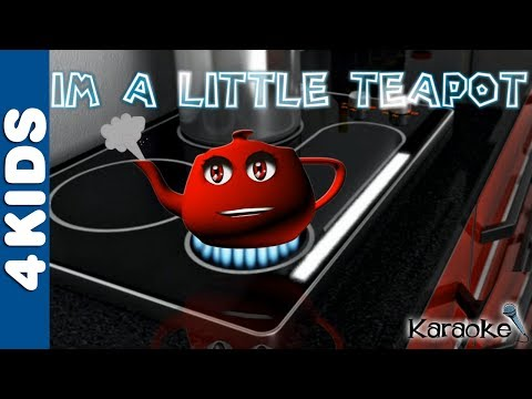 I'm A Little Teapot | Nursery Rhymes | Karaoke